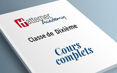 Cours Complet 10e