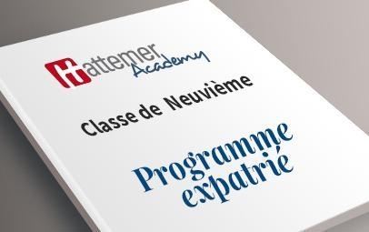 Programme expatrié - 9ème 520.00€