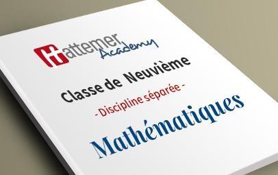 9e -  Mathématiques
