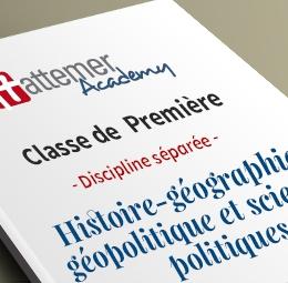 1e - Spécialité Histoire - Géographie Géopolitique et Science politique