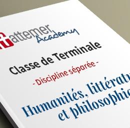 Terminale - Spécialité Humanité, littérature et philosophie