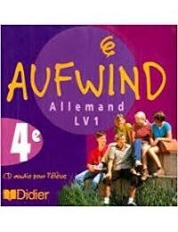 Allemand LV1 - CD Auf Wind 4e - Edition DIDIER
