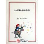 12e - COLLECTION HATTEMER - Pages d'écriture - Les minuscules
