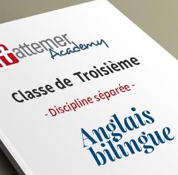 3e - Anglais bilingue   inclus 10 séances de visio / trimestre