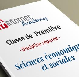 1e - Spécialité Sciences économiques et sociales
