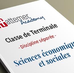 Terminale - Spécialité Sciences économiques et sociales