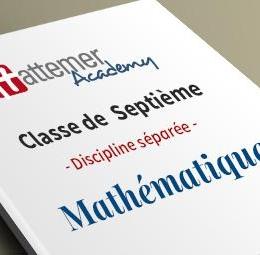 7e -  Mathématiques