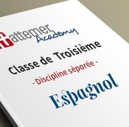 3e - Espagnol   inclus 3 séances de visio / trimestre