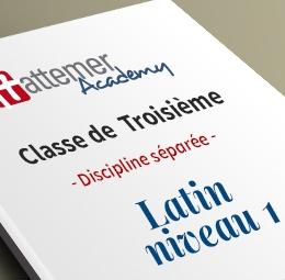 3e - Latin - Niveau 1