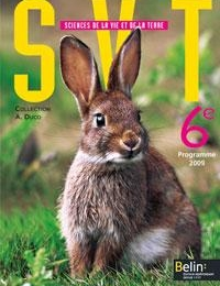 6ÈME - SVT de 6ème - Edition BELIN (facultatif)