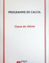 COLLECTION HATTEMER - Livre de calcul pour la 10ème