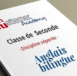 2e - Anglais bilingue   inclus 10 séances de visio / trimestre - 540.00€
