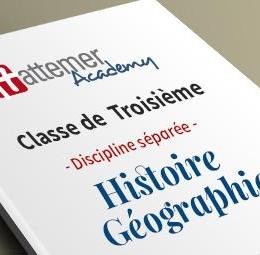 3e - Histoire - Géographie
